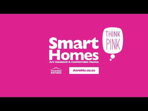 Think Pink Aerolite Insulation - South Africa - Glass Wool Insulation
