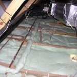 eco-friendly insulation polyester ceiling insulation